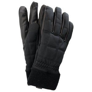NWT UGG MEN'S ALL WEATHER QUILTED GLOVES BLACK